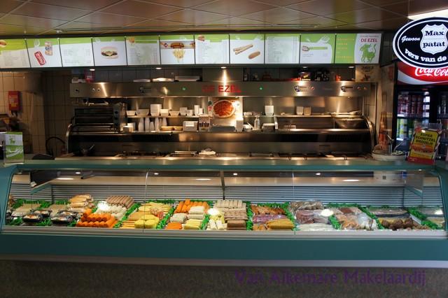 Te koop nette snackbar met hoge omzet in Heemskerk
