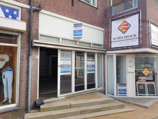 Ter huur aangeboden:  50 m2 Horecaruimte aan de Hoogstraat 193-A te Vlaardingen. Dit bedrijf wordt u aangeboden door  Horecamakelaardij Knook & Verbaas.