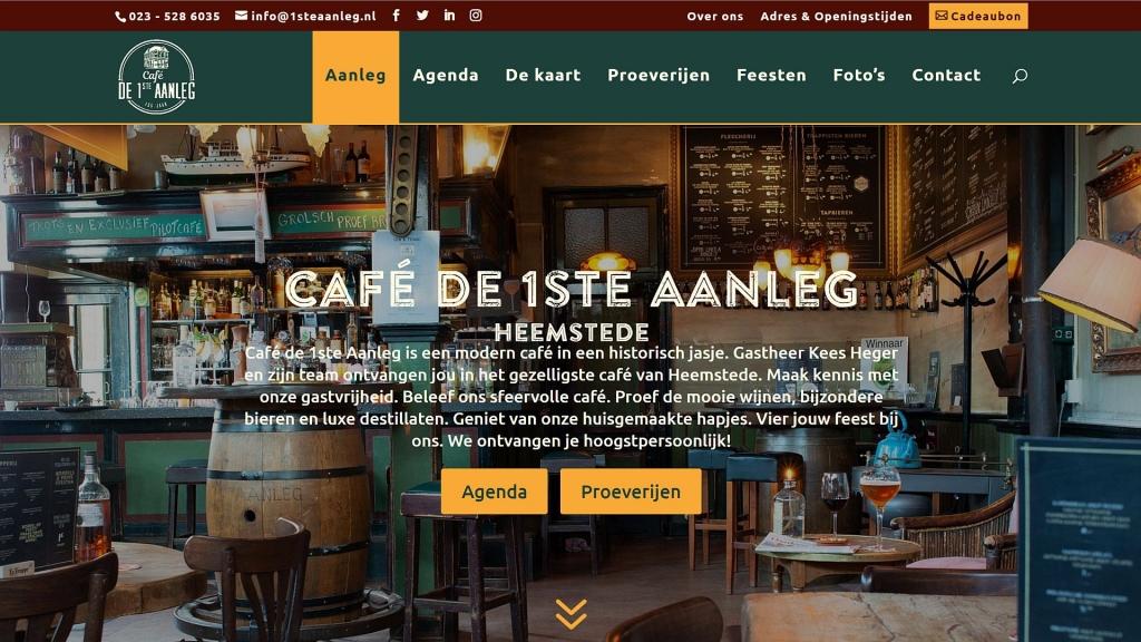 Website cafe de 1ste aanleg heemstede horeca webservice.jpg