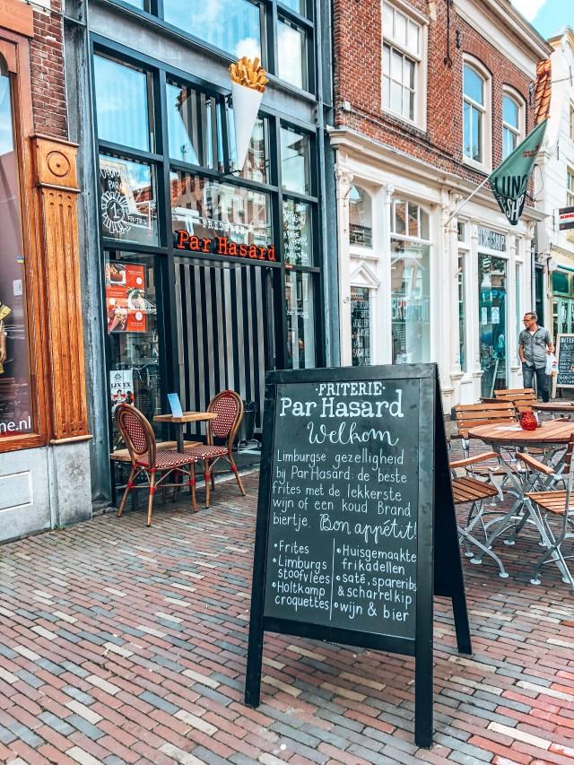 Zeer nette cafetaria / friterie met franchise mogelijkheid in centrum Alkmaar