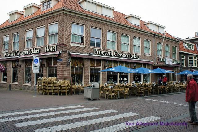 Restaurant/lunchroom hoge omzet/winst groot terras in centrum Hoorn