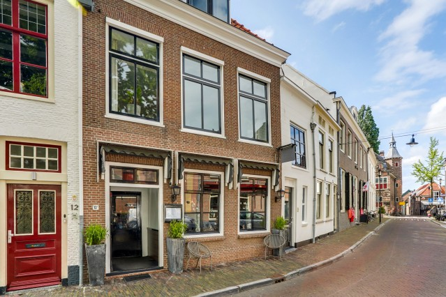 Restaurant centrum Woerden binnen de vesting