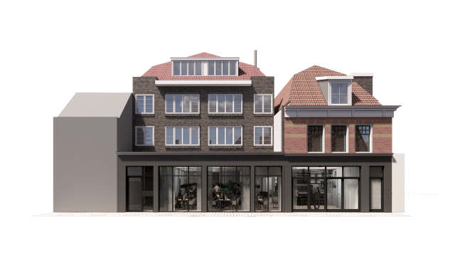 Royale Caso Plus horecaruimte in het centrum van Alkmaar.