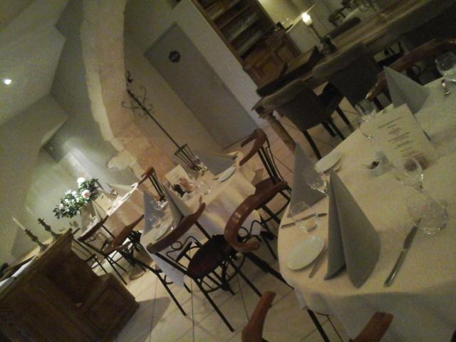 Restaurant la Galantine in het hart van Goudargues  Zuid Frankrijk (30 Gard)