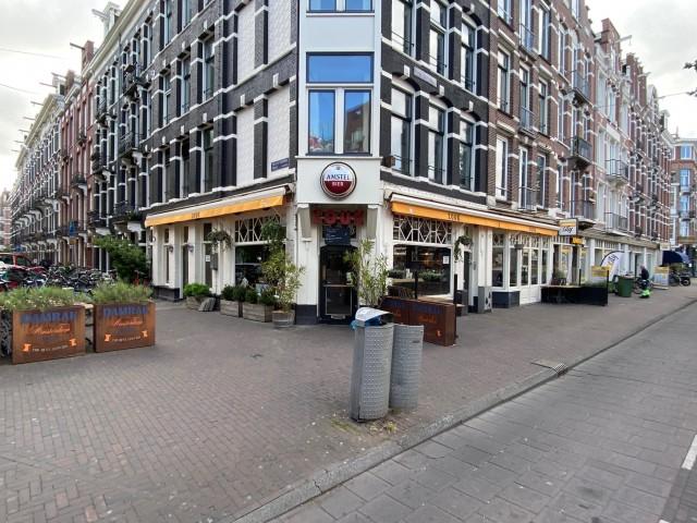 ID2118 Bekende horecazaak op hoeklocatie aan de Constantijn Huygensstraat
