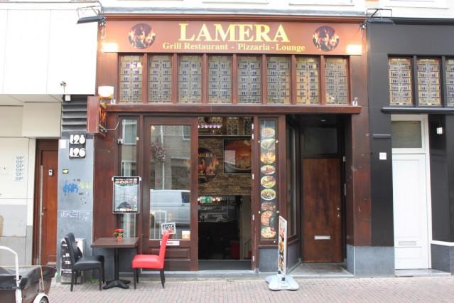 ID2183 Compleet restaurant midden aan de Kinkerstraat in Oud-West