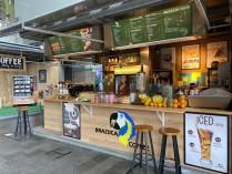 T.k.a. trendy koffiebar te Rotterdam