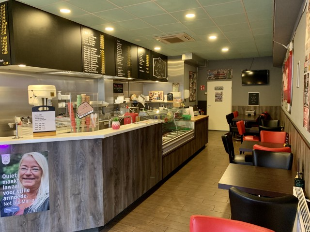 Moderne Cafetaria te Oss