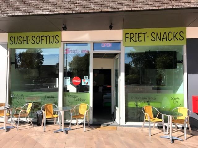 Cafetaria & Sushi te koop Gerretsonplein te Eindhoven