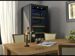 3D animatie wijnklimaatkasten (40-200 flessen) CoolVaria