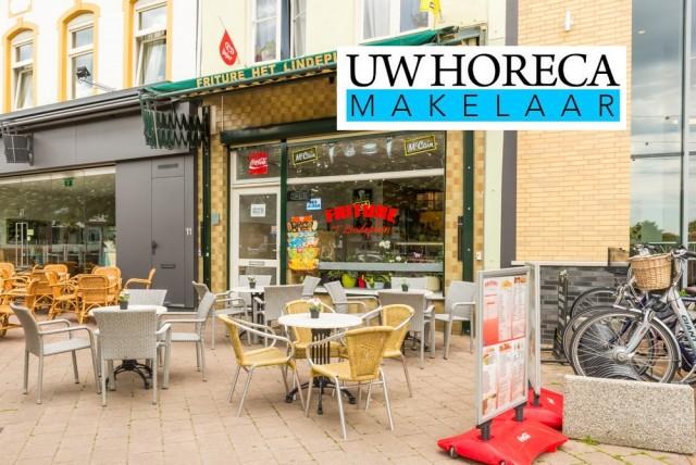 Cafetaria + terras + woning €69.000
