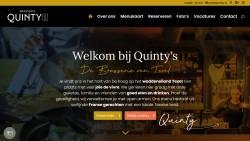website restaurant quinty's de Koog Texel horeca webservice.jpg
