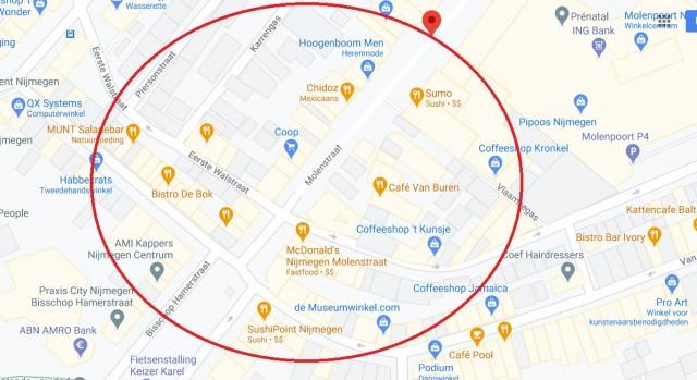 Te overname aangeboden : inventaris & exploitatie centrum ( hartje)  Nijmegen