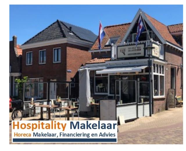"""Te koop restaurant """"Proefkantoor De Klerk' Woudsend"""